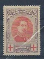 """BELGIQUE : Y&T* N° 134 """" Croix- Rouge """" - 1918 Red Cross"""