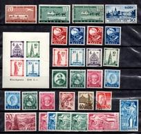 Allemagne/ZOF/Bade Belle Collection Neufs Et Oblitérés 1948/1949. Bonnes Valeurs. B/TB. A Saisir! - French Zone
