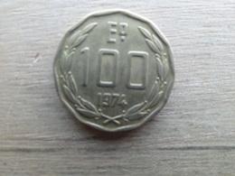 Chilie  100  Escudos  1974  Km 202 - Chile