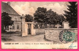 Souvenir De Sivry - Le Château Du Notaire Simon érigé Au XVI ème Siècle - WERION LEVEQUE - 1907 - Sivry-Rance