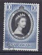 Sarawak 1953 Mi. 187    10 C. QEII Coronation - Sarawak (...-1963)