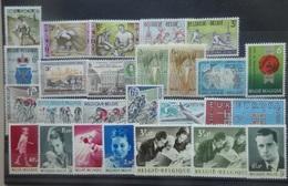BELGIE 1963     Van Nr. 1243  Tot  1268   Postfris **   CW 16,75 - Unused Stamps