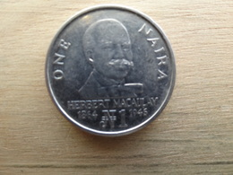 Nigeria  1  Naira  1991  Km 14 - Nigeria