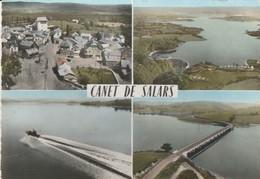 CPSM  12 CANET DE SALARS MULTIVUES AERIENNES - Francia