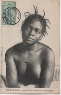 CAMEROUN  DUALA GIRL  JEUNE FILLE DUALA - Cameroon