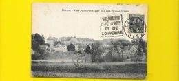 BOREST Rare Vue Panoramique Sur La Grande Ferme (Carcy) Oise (60) - France