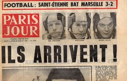 JOURNAL  PARIS JOUR N° 3066 / 24 Juillet 1969 - ILS  ARRIVENT  - Neil Armstrong, Buzz  Aldrin,  Michael Collins - Journaux - Quotidiens