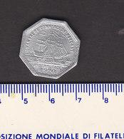 Monnaie Necessité Bayonne (64) Pyrénées Atlantiques .. 25c Chambre De Commerce 1920 Aluminium - Monetary / Of Necessity