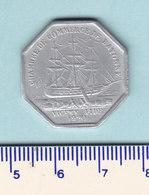 Monnaie Necessité Bayonne (64) Pyrénées Atlantiques .. 50c Chambre De Commerce 1920 Aluminium - Monetary / Of Necessity