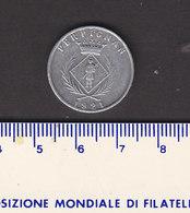 Monnaie Necessité Perpignan (66) Pyrénées Orientales .. 5c Chambre De Commerce 1921 3° Emission Aluminium - Monetary / Of Necessity