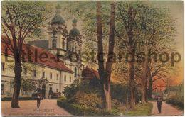 AK Wahlstatt Königliches Kadettenhaus Und Katholische Kirche Ca. 1915 Schlesien Manfred Von Richthofen - Schlesien