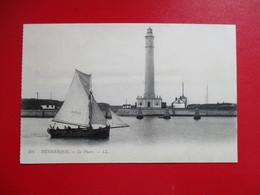 CPA 59 DUNKERQUE LE PHARE BATEAU - Dunkerque