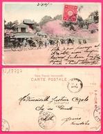 CPA TOKYO ENVOYE POUR OLETTE PAR PARIS ETRANGER CACHET JAPAN 1907 - Animée - Chine