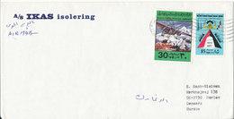 Kuwait Cover Sent To Denmark - Kuwait