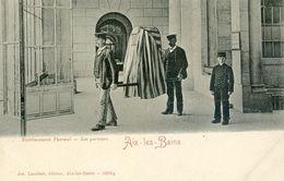 73 - Aix Les Bains - Cartes Nuage - Etablissement Thermal - Porteurs - Aix Les Bains