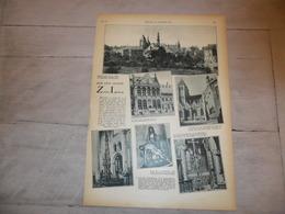 """Origineel Knipsel ( 1212 )  Uit Tijdschrift """" Katholieke Illustratie """" :  Léau  Zout - Leeuw  Zoutleeuw 1931 - Vecchi Documenti"""