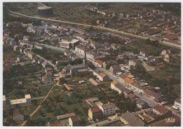 57.221.09 FLORANGE - Edts La Cigogne - Vue Aérienne. Grand Rue, L'Eglise Sainte Agathe, Hôtel De Ville.(2) - Altri Comuni