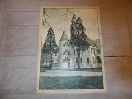 """Origineel Knipsel ( 1219 )  Uit Tijdschrift """" Katholieke Illustratie """" :  Kasteel """" Rammijnenhof """" Te Gestel - Vieux Papiers"""