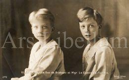Postcard / ROYALTY / Belgique / Prins Karel / Prince Charles / Prins Leopold / Prince Leopold / Unused - Royal Families