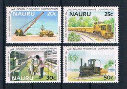 Nauru 1985 Eisenbahn Mi.Nr. 306/09 Kpl. Satz ** - Nauru