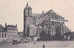 LE MANS - Sarthe - Abside De La Cathédrale - CPA - 1912 - Le Mans