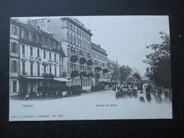 CP ALLEMAGNE DEUTSCHLAND (M1803) KOBLENZ COBLENZ (2 Vues) Strasse Am Rhein Années 1900 - Koblenz