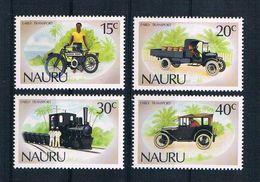 Nauru 1986 Transport Mi.Nr. 316/19 Kpl. Satz ** - Nauru