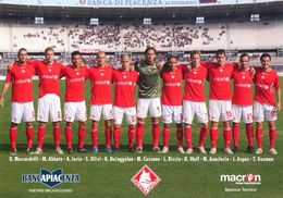 CALCIO - PIACENZA 2008-09 SERIE B - CARTOLINA 90° FONDAZIONE - Football
