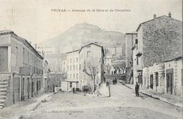 Privas (Ardèche) - Avenue De La Gare Et De Chomérac - Edition J. Brun Et Cie - Privas
