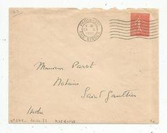 ENTIER POSTAL , 50 C ,PARIS XVI , RUE SINGER , 1933 - Entiers Postaux