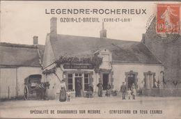 28-OZOIR-LE-BREUIL-Ets LEGENDRE-ROCHERIEUX - Spécialité De Chaussures..., Confections... 1915  Animé - France