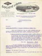 Brief 1927 - GLIESMARODE-BRUNSWICK - SOCIETE LIBRA -Fabrique De Balances - Allemagne