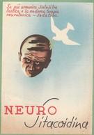 11582-CARTONCINO PUBBLICITARIO PRODOTTI MEDICINALI-NEURO SITACOIDINA - Pubblicitari