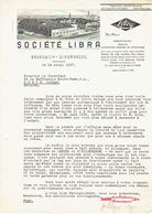 Brief 1937 - GLIESMARODE-BRUNSWICK - SOCIETE LIBRA - Fabrique De Balances - Non Classés