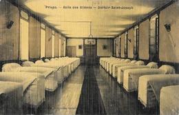 Privas - Asile Des Aliénés, Dortoir Saint-Joseph - Edition Nouvelles Galeries, Carte Vernie, Toilée, Non Circulée - Privas