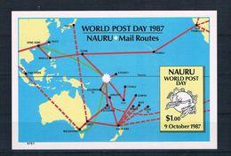 Nauru 1987 UPU Block 7 ** - Nauru