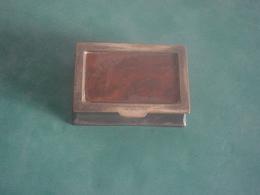 BOITE A TIMBRES  EN BOIS  ET METAL - Stamp Boxes