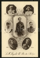 Postcard / ROYALTY / Belgique / Roi Leopold III / Koning Leopold III / Unused - Royal Families