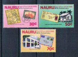 Nauru 1988 Postamt Mi.Nr. 346/48 Kpl. Satz ** - Nauru