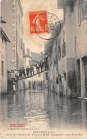01 - AIN / Seyssel - 011968 - Passerelle Rue Blanche - Inondation - Seyssel