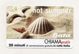 Telecom - Scheda Chiama Gratis - 2001 - BATA - 20 Minuti Di Conversazione Gratuita - NUOVA - (FDC8252) - [2] Sim Cards, Prepaid & Refills