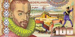 Magnifique 100 Gulden Ceylan Netherlands 15 Février 2016 UNC  POLYMER  Essai - Spécimen - [6] Fakes & Specimens