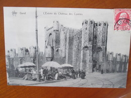 Gand , Entree Du Chateau Des Comtes , Marche - Gent