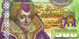 Magnifique 500 Gulden Ceylan Netherlands 6 Avril 2016 UNC  POLYMER  Essai - Spécimen - [6] Fictifs & Specimens