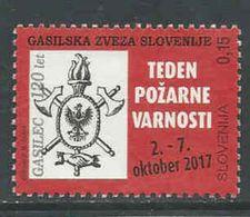 Slovenie, Yv  Jaar 2017, Gestempeld, Zie Scan - Slovénie