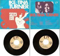 IKE AND TINA TURNER 45 Giri PROMO Del 1974 SEXY IDA Parte 1 E 2  - UNITED ARTISTS RECORDS U 35726 - Soul - R&B