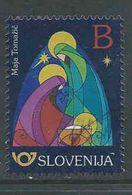 Slovenie, Yv  Jaar 2017, Kerstmis, Gestempeld, Zie Scan - Slovénie