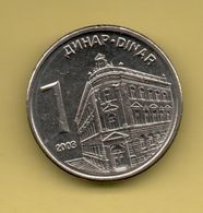 SERBIA - 1 DINARA 2003 KM34 - Serbia