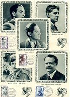 FRANCE 5 CARTE MAXIMUM HEROS DE LA RESISTANCE 18 MAI 1957 - 1950-59