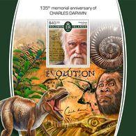 SOLOMON Isl. 2017 - Charles Darwin, Shell S/S - Schelpen